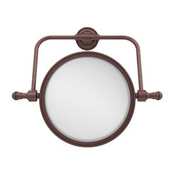 Allied Brass Swivel Mirror 4x Mag - Antique Copper - Size: 8""