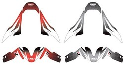 Factory Effex OEM Fender Trim Kit for Honda CBR600RR - Red