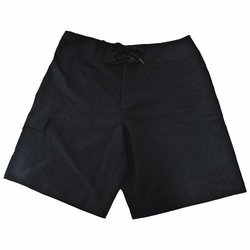 Calcutta Men's Board Short Microfiber - Black - Size: 34