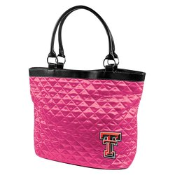 Little Earth NCAA Texas Tech University Quilted Tote - Pink - Size: One