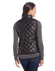 TuffRider Women's Alpine Quilted Vest, Black, 2X