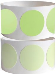 "ProTapes Pro Glow Dots Tape, 60"" Length x 2"" Width, 15 mils Thick, For Marking Glow In The Dark (Pack of 6)"