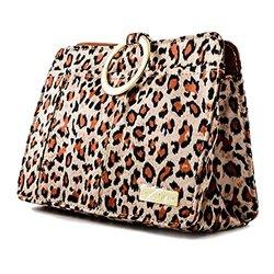 Mod Pouchee Women's Purse Organizer - Cheetah Sateen - One Size