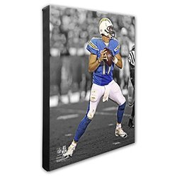 "NFL San Diego Chargers Philip Rivers Gallery Canvas - Size: 16"" x 20'"