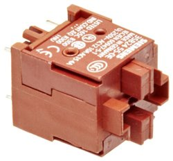 Siemens Contact Block Solder Pins 16mm Mounting Diameter