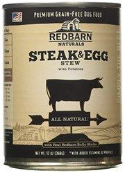 Redbarn Steak Naturals & Egg Stew with Potatoes - 12x13 oz
