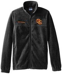 NCAA Men's Oklahoma State Cowboys Fleece Jacket - Charcoal Heather - XL