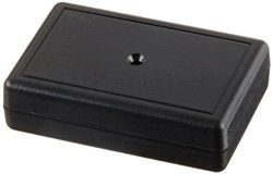 "Serpac C4 ABS Plastic Enclosure, 2-1/8"" Length x 1-3/8"" Width x 0.59"" Height, Black"