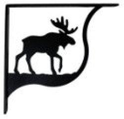 Sb-19-M Moose Shelf Brackets Med