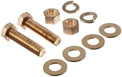 "Burndy TMH69 Durium Hardware Kit 10 Pie - Silicon Bronze 1/2""-13 Size: 2"""