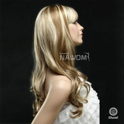 SureWells Long Wave Hair Wig - Golden Blonde