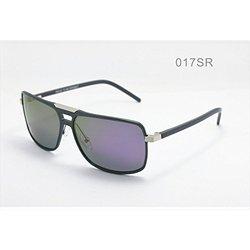Breed Men's Sunglasses: Aurora Bsg017sr Gunmetal Frames