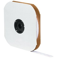 "Tape Logic  3/4"" x 75' White Loop Individual Tape Strips"
