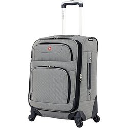 SwissGear Carry-On Spinner: 20 /Pewter
