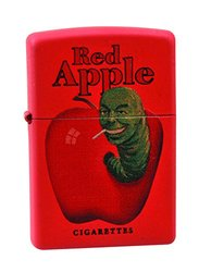 Diamond Select Toys Pulp Fiction: Red Apple Red Metal Zippo Lighter Toy 996315