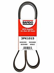 Bando 3PK1015 OEM Quality Serpentine Belt