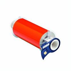 "Brady 13404 PowerMark Reflective Tape, 7"" X 33', Orange Reflective"
