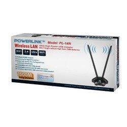 Power Link Wireless Lan High Power 802.11 b/g/n 7dbi Antenna #PL14N
