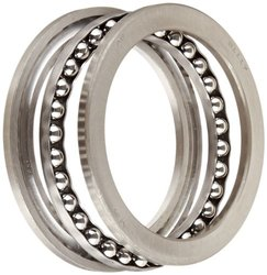 NSK 51117 Thrust Bearing - Single Row - 3 Piece - Grooved Race 85mm Bore