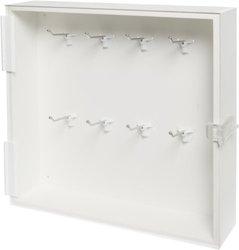 Brady Enclosed Padlock Storage Module with Clear Acrylic Door, 16-Padlock Capacity