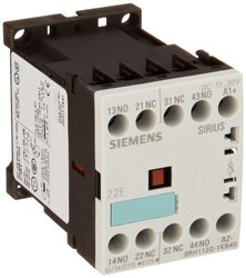 Siemens 3RH11 22-1KB40 Coupling Relay Size S00 35mm Standard Mounting Rail