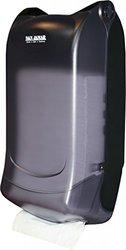 Napkin Dispenser, Black, Plastic, Wall
