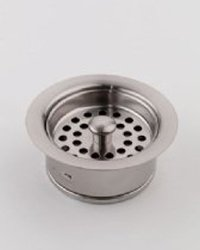 Jaclo 2831-PEW Disposal Flange Strainer, Pewter, Pewter