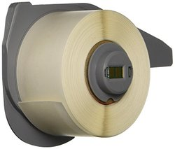Brady M71C-1000-498 Repositionable Vinyl Cloth BMP71 Labels , White (1 Roll, 1 Roll per Package)