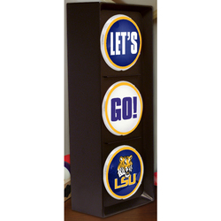 "The Memory NCAA Louisiana State Let's Go Light - Size: 16"""