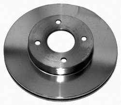 Acdelco 18A744 Replacement Brake Rotor - Stainless Steel