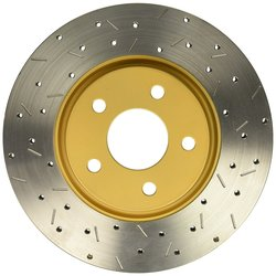 DBA DBA42052XS 4000 Series Cross Drilled & Slotted Front Disc Brake Rotor