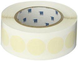 "Brady LMC-1250 1.250"" Diameter, B-540 Creped Paper, Beige Circular Mask Tape (1000 per Roll)"