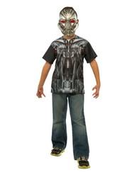 Rubie's Costume Child Ultron T-Shirt Costume 3-4 Yrs - Multi - Size: Small