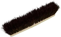 Zephyr Palmyra Fiber Garage Poly Block Push Broom 12 Case - Brown