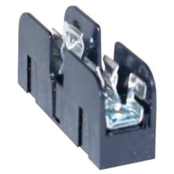 Mersen 60302J Class J Non-Spring Reinforced Fuse Block with Box Connector, #2-14 Al/Cu Wire Size, 30 Ampere, 2 Pole