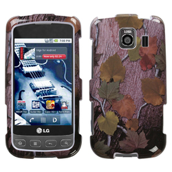 MyBat Slim & Stylish Protective Case for LG Optimus S Pack of 1 - Hunter