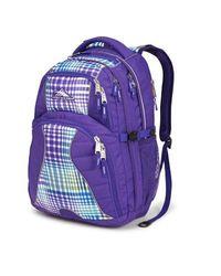 High Sierra Swerve Backpack for 17? Laptops - Deep Purple Tea Party