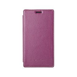 Melkco Leather Case for Nokia Lumia 1520 - Purple (NKL520LCFB3PELC)
