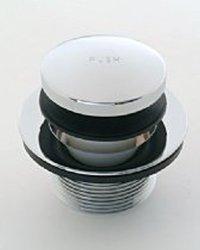 Jaclo 529-75-PCU Toe Control Drain Strainer, Polished Copper