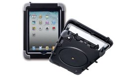 The Joy Factory Ultra Rugged Waterproof, Military Grade, Shockproof, Case with Built in Heavy-Duty Screen Protector compatible with iPad 2/3/4th Gen (CWA101)
