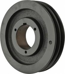 Browning 2TB80 Split Taper Sheave, Cast Iron, 2 Groove, A or B Belt, Uses Q1 Bushing