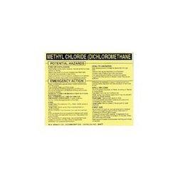 Brady 93568, Hazardous Material Label (Pack of 10 pcs)