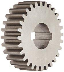 "Boston Gear GH28B Plain Change Gear, 14.5 Degree Pressure Angle, 8 Pitch, 1.375"" Bore, 28 Teeth, Cast Iron"