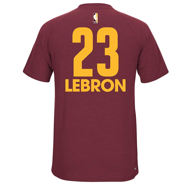 Maroon Adidas Lebron Jersey-6103