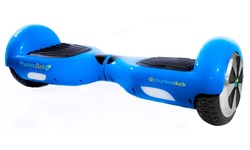 PhunkeeDuck Electric Hoverboard  - Blue - Size: 17cm