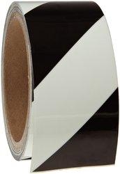 """Brady 2"""" W x 15' L B-324 Glow-In-The-Dark Stripes & Solid Tape (76430)"""