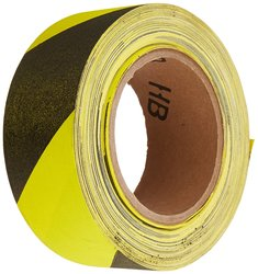 "Thomas & Betts EZ AZ-1100 2"" Width x 30 Yards Tape - Black & Yellow"