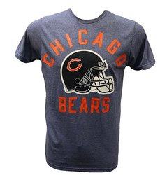 NFL Men's Chicago Bears Bold Helmet T-Shirt - Blue - Size: Medium