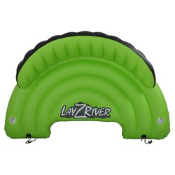 "Blue Wave Sports 85""x49""x27.5"" Lay-Z-River Inflatable Sofa - Green/Black"