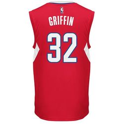 Men's NBA Los Angeles Clippers Blake Griffin #32 Replica Jersey - Red/XXL